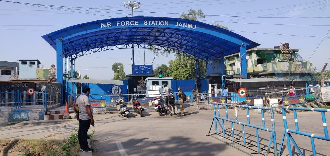 Two low-intensity explosions reported at Jammu Air Force Station