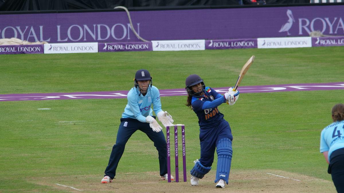 Mithali scores 72 to take India to 201/8 against England in 1st ODI