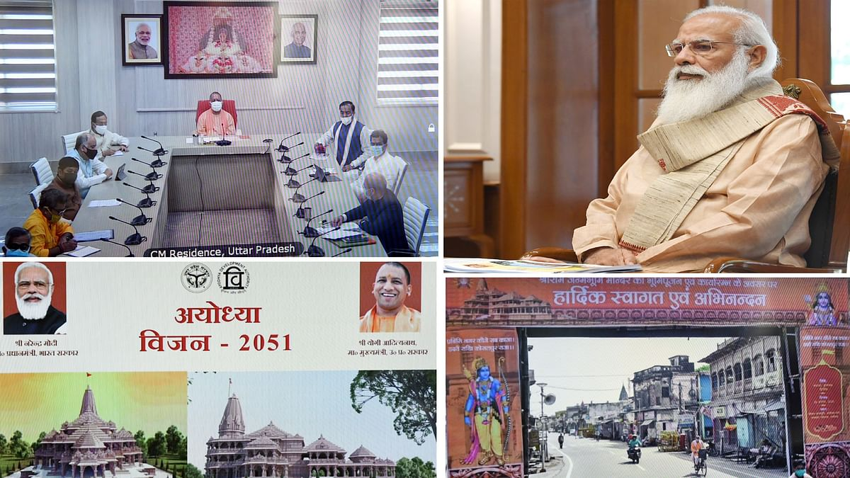 Modi reviews plans for development of Ayodhya as a spiritual centre, tourism hub and smart city