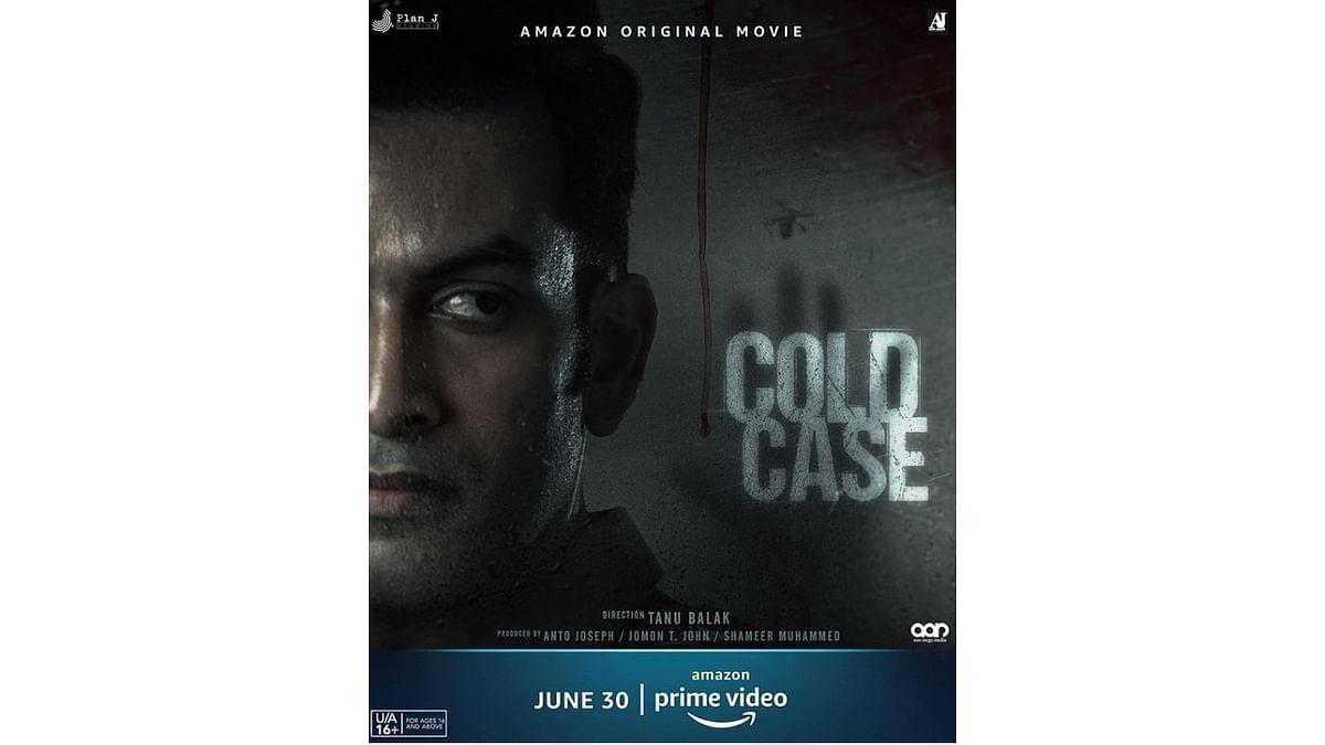 Prithviraj Sukumaran-starrer 'Cold Case' to release on June 30