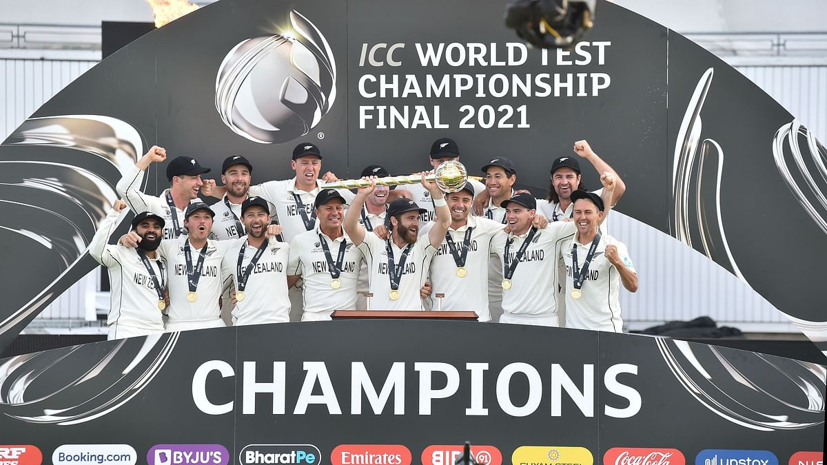 New Zealand beat India, lift World Test Championship