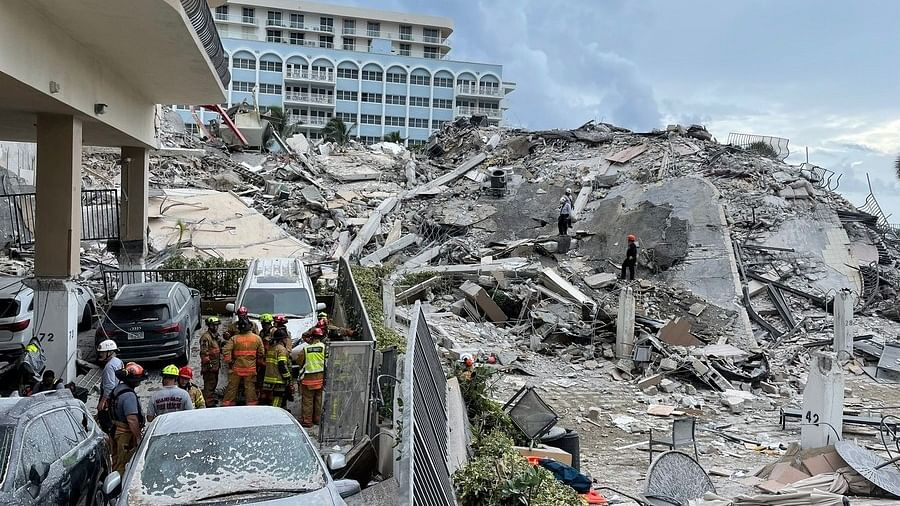 US: Death toll rises to 9 as more bodies found in Florida building collapse