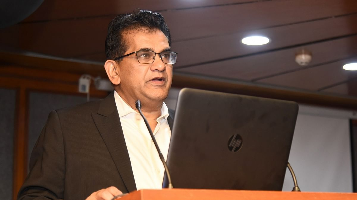 Amitabh Kant given one-year extension as CEO of NITI Aayog
