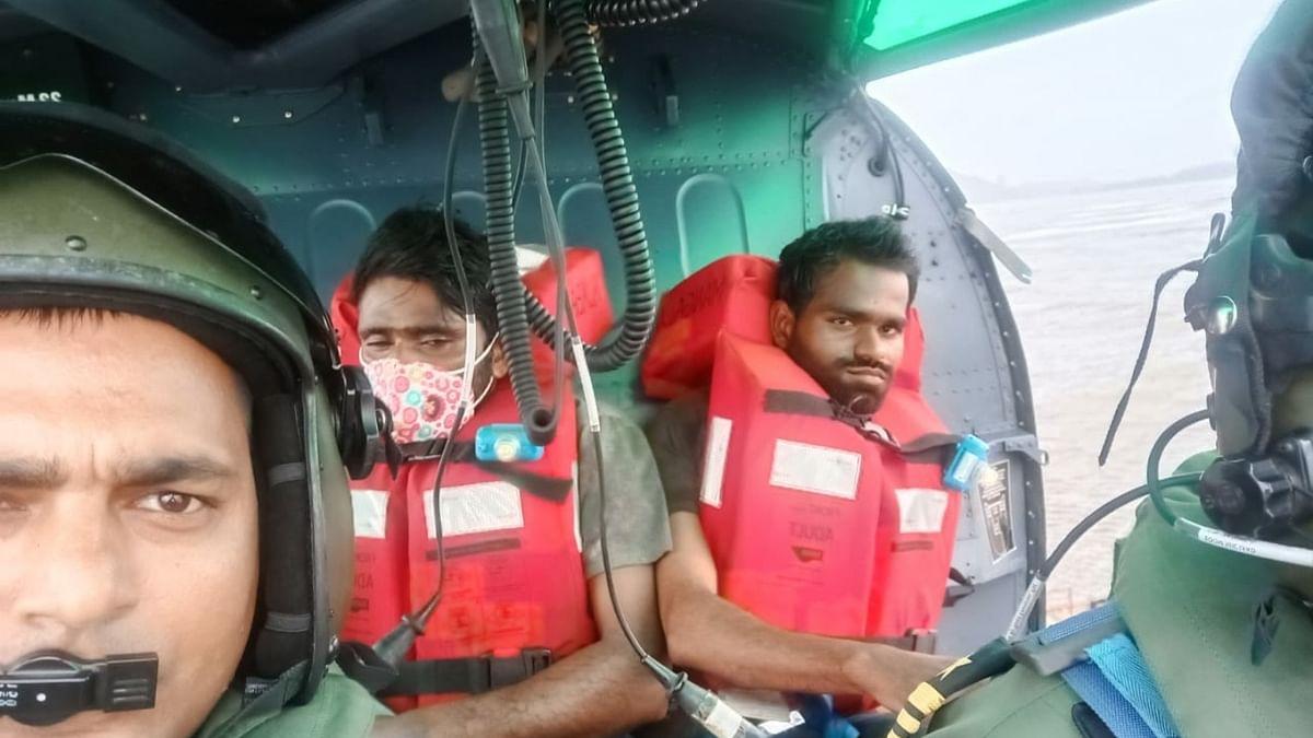 Coast Guard rescues all 16 crew of sinking vessel near Revdanda in Maharashtra