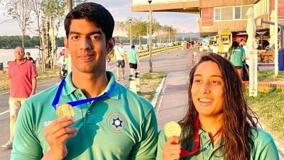 Belgrade swimming: Indians win 3 gold, miss Olympic qualification