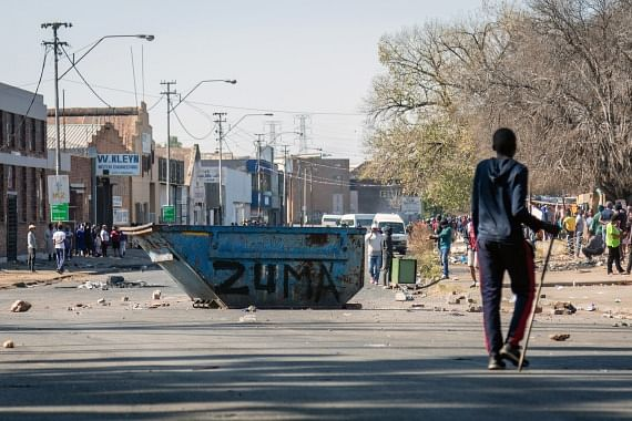 212 people dead in violent South African protests