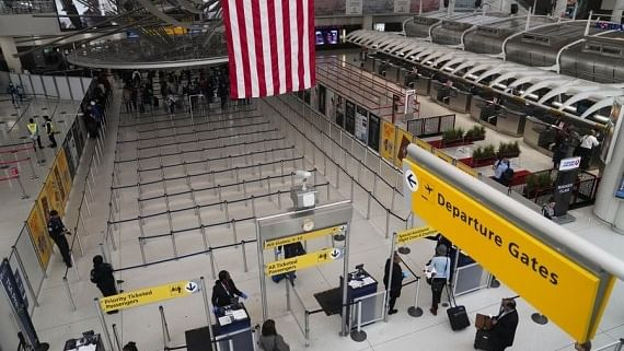 Water leak at JFK airport control tower causes delays, cancellations of flights