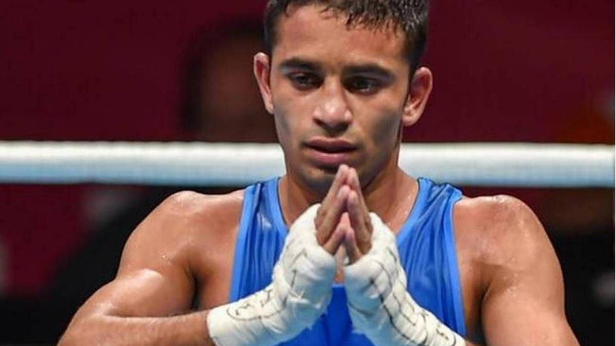 Boxer Amit Panghal crashes out of Tokyo Olympics