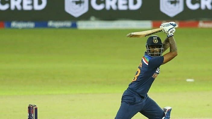 1st T20I: India score 164/5 against Sri Lanka
