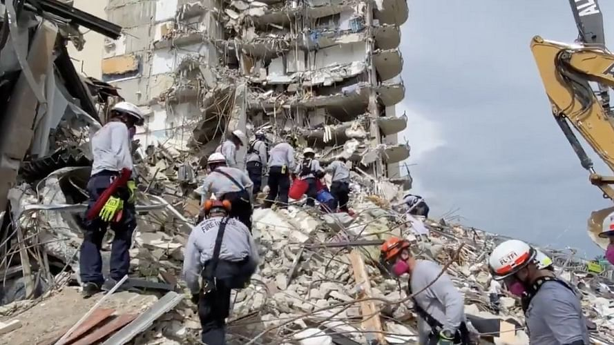 US: Death toll in Florida building collapse reaches 78