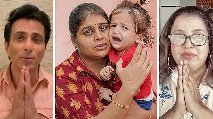 Sonu Sood, Farah Khan appeal for donations for 16-month-old Ayansh's gene therapy drug