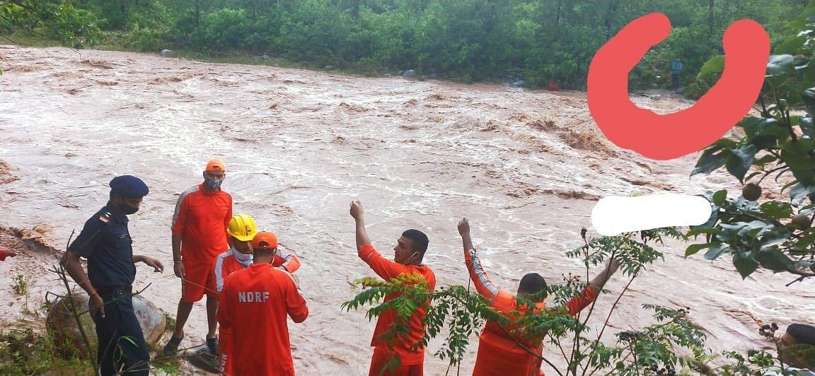 One dead, 10 missing in Himachal flashfloods, NDRF deployed