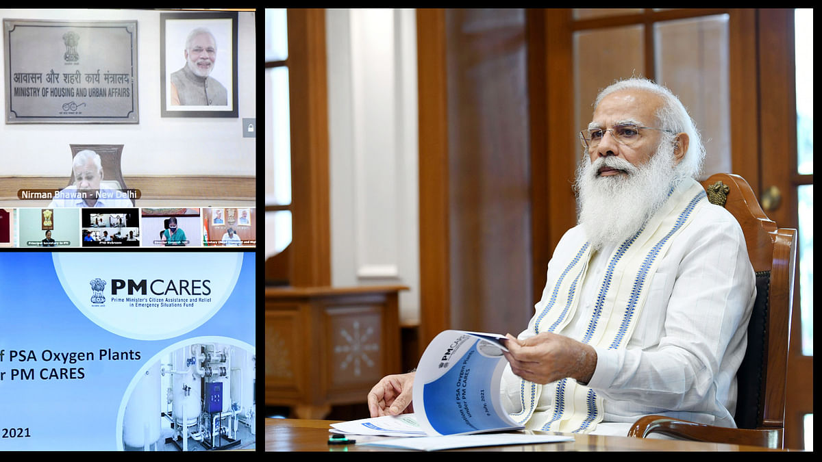 Modi chairs high-level meeting to review ramping up of oxygen supply