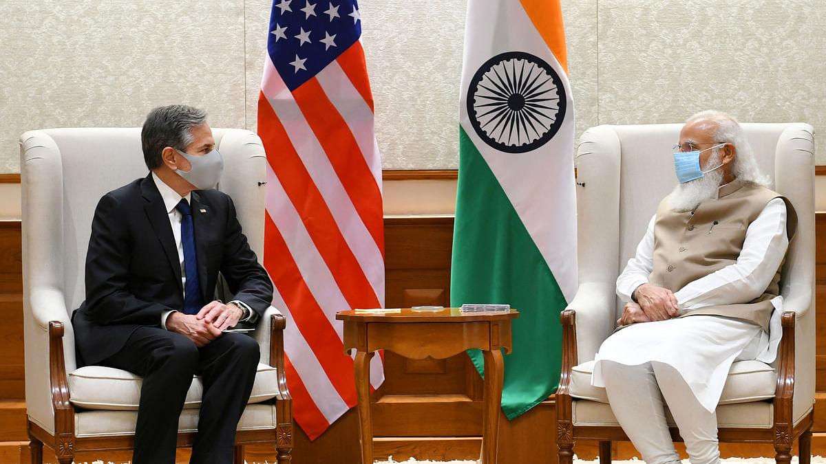 Blinken meets Modi, Jaishankar, discusses ways of deepening India-US strategic partnership