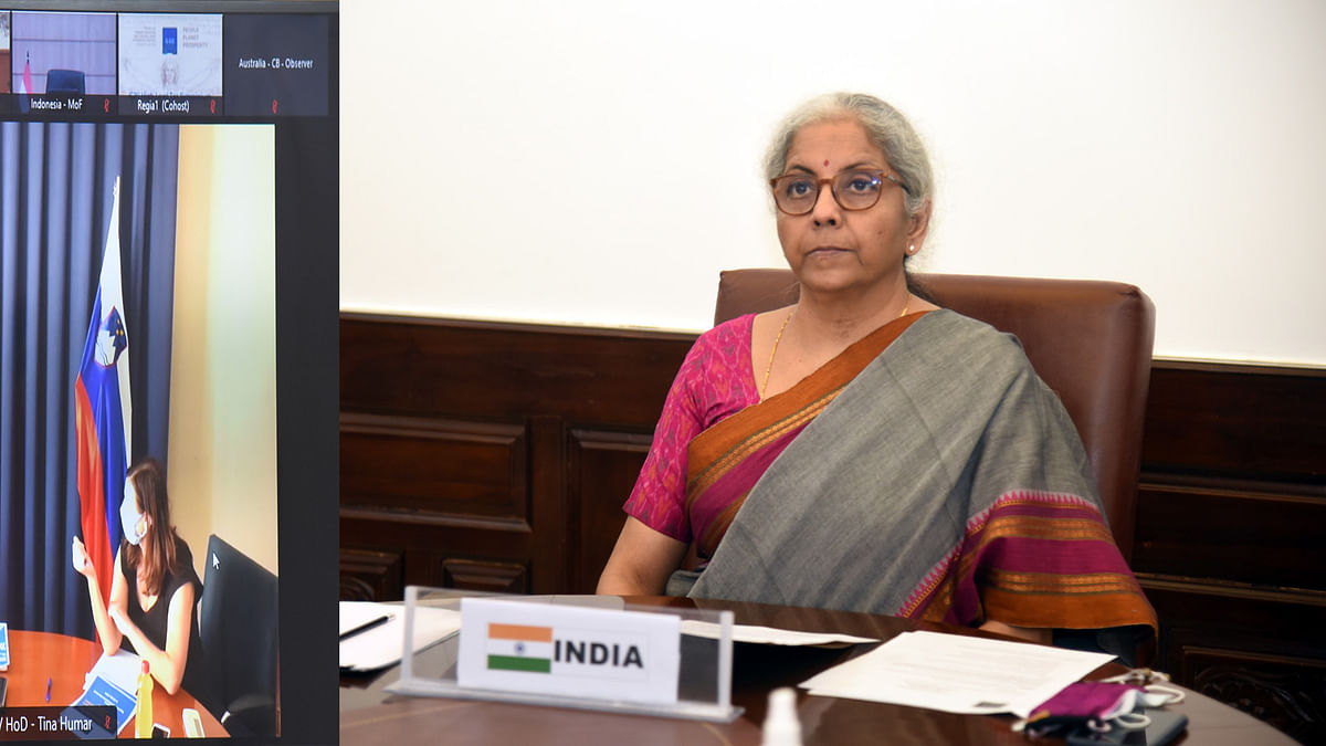 Nirmala Sitharaman attends 3rd G20 Finance Ministers and Central Bank Governors Meeting