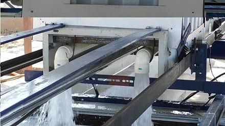 Automated Train Toilet Sewerage Disposal System -- a cost-effective alternative to bio-toilets
