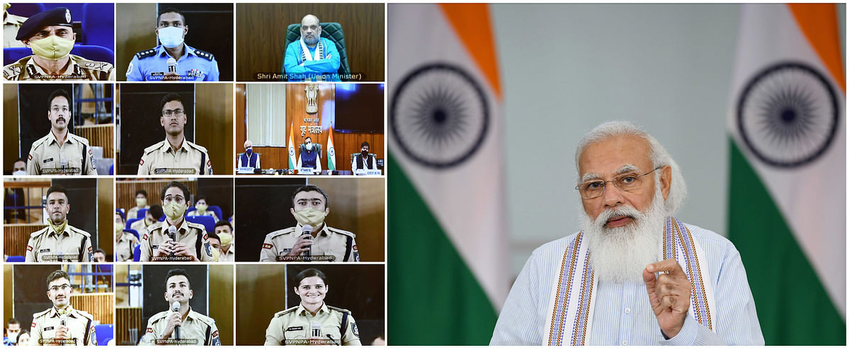 Modi says police must be ready to handle technological disruptions, prevent new types of crime