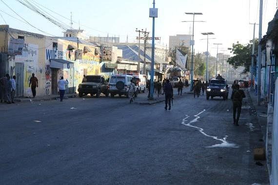 Seven killed in Mogadishu suicide bombing