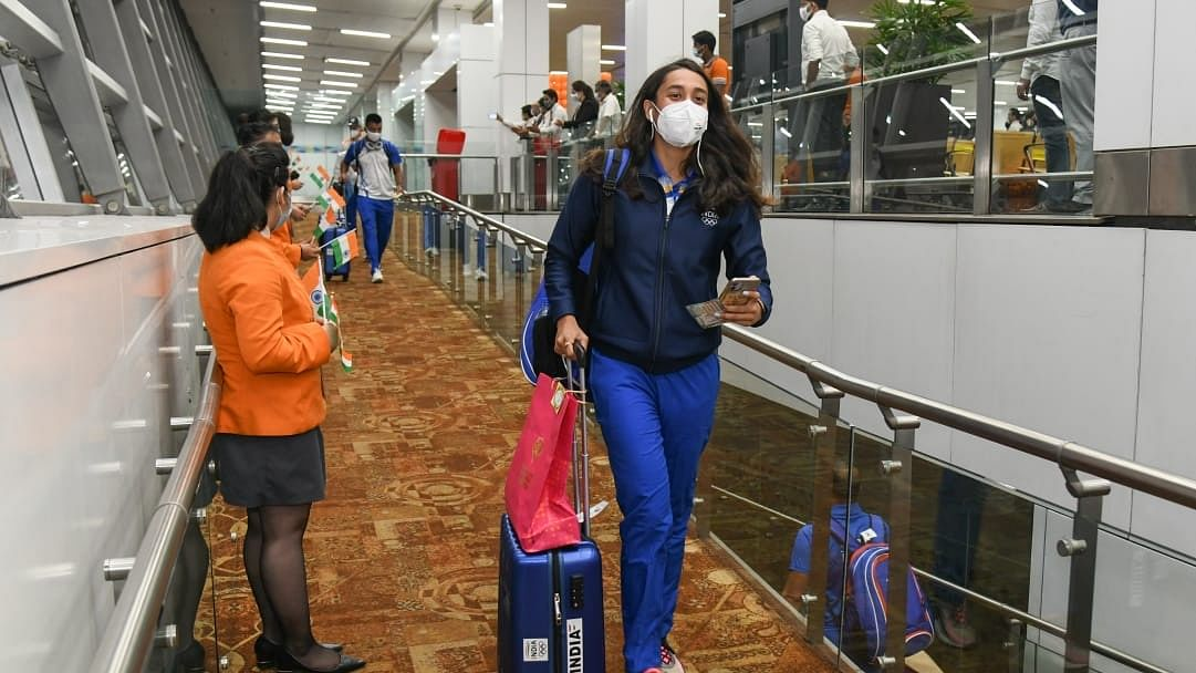 Olympics: First batch of 88 members of Indian contingent leaves for Tokyo