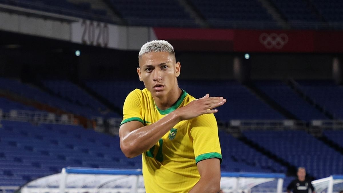 Tokyo Olympics: Brazil's Richarlison scores hat-trick against Germany
