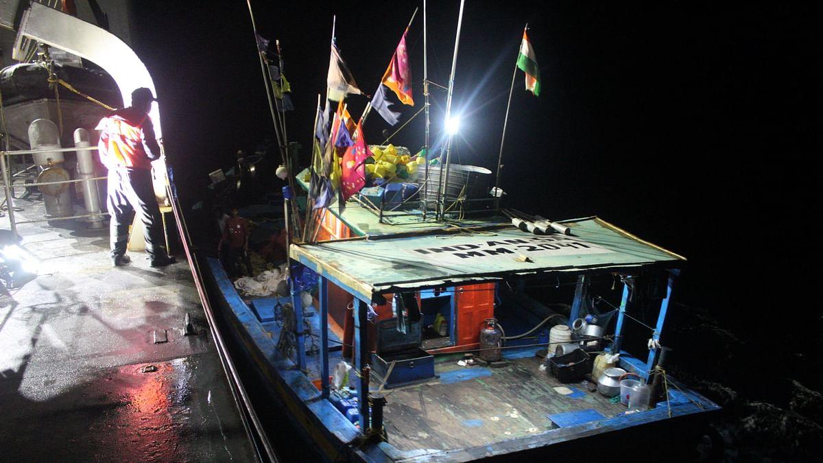 INS Airawat rescues fishing vessel off Carnicobar island