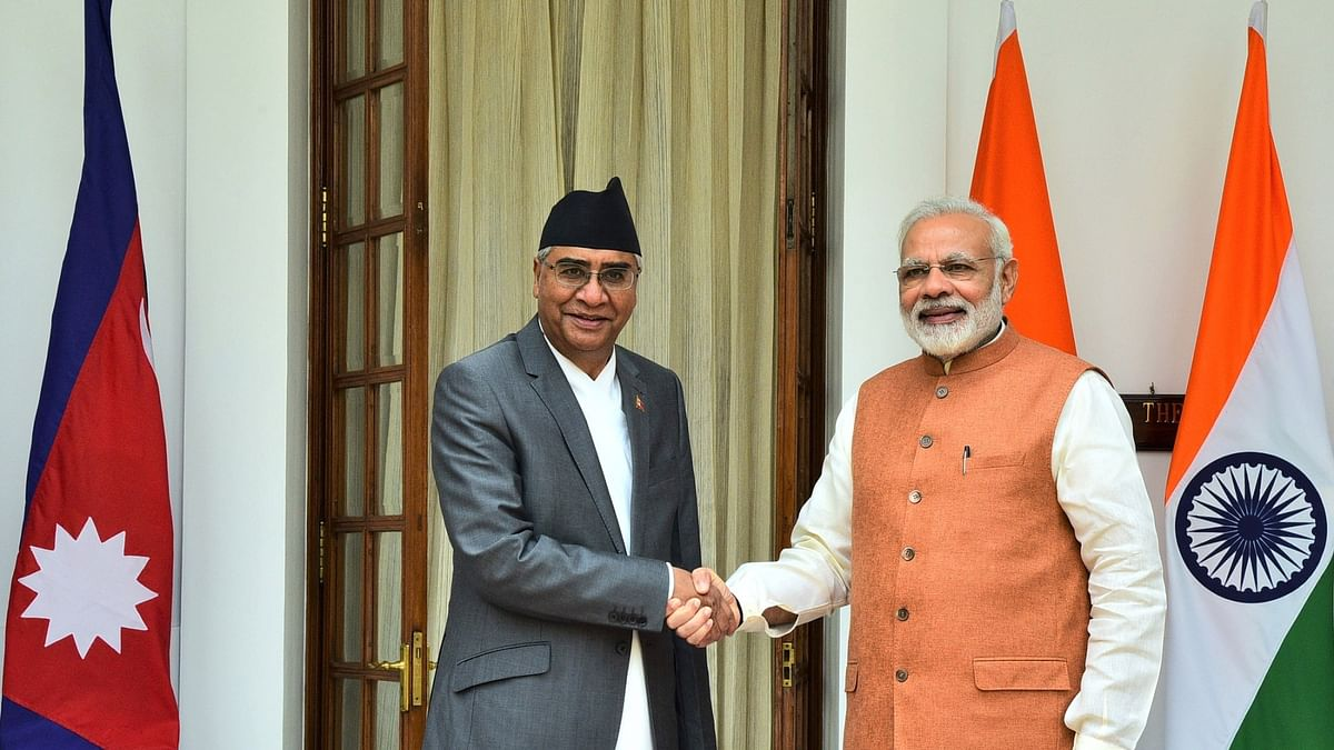 Modi, Deuba agree to work together to enhance bilateral cooperation