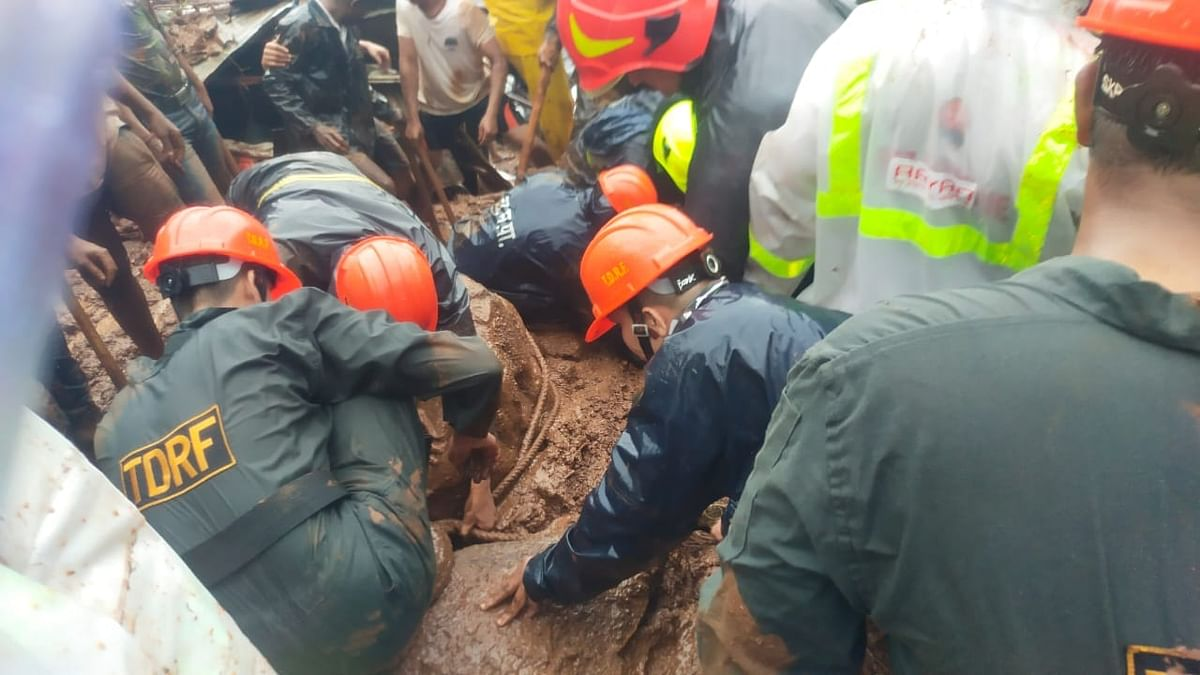 Five of family killed in Thane landslide, 3 others rescued