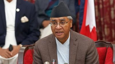 Deuba takes oath as new Nepal PM, forms small Cabinet