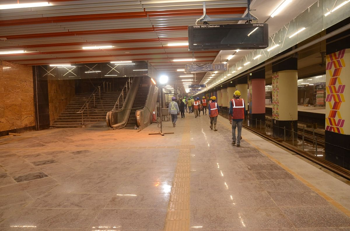 Delhi Metro builds its first underground parking facility at Dhansa Bus Stand station