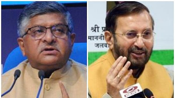 Prasad, Javadekar, 10 other Ministers resign ahead of Cabinet reshuffle