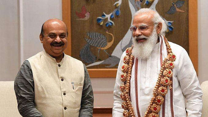 New Karnataka Chief Minister Bommai meets Modi, Shah, Nadda