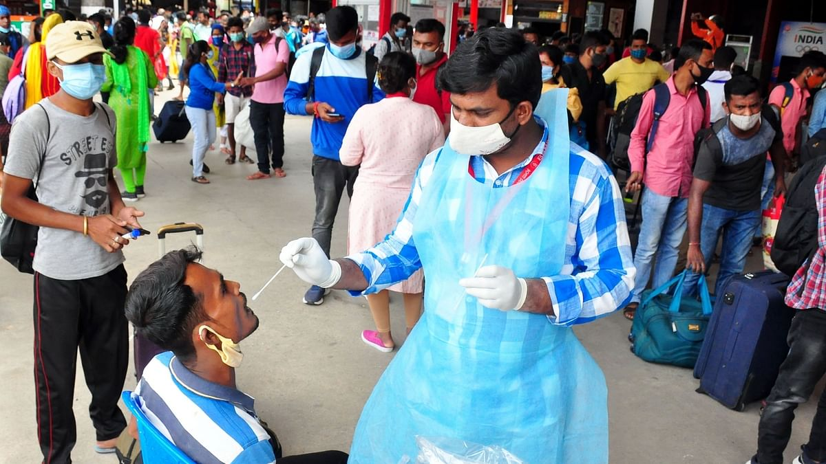 India logs 593 COVID-19 deaths, 41,649 fresh cases of infection in last 24 hours