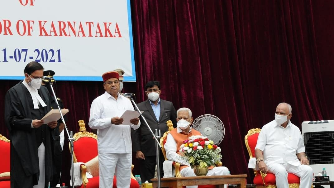 Thaawarchand Gehlot takes oath as Karnataka's new Governor