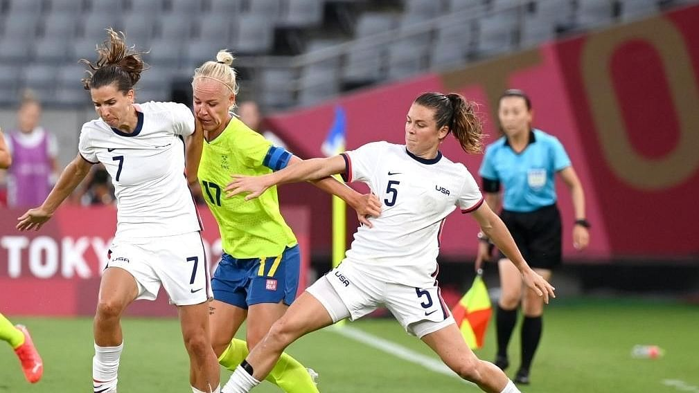 Olympics: USA stunned as women's football tournament gets underway
