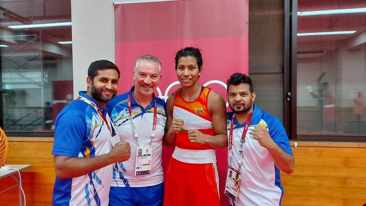 Olympics: Lovlina in semis, assures India a medal in boxing at Tokyo