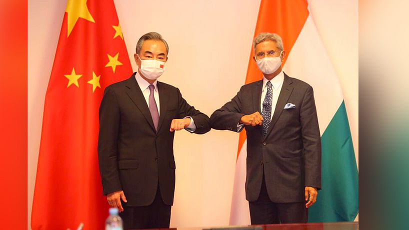 Jaishankar tells China that prolongation of situation on LAC in Ladakh is negatively  impacting ties