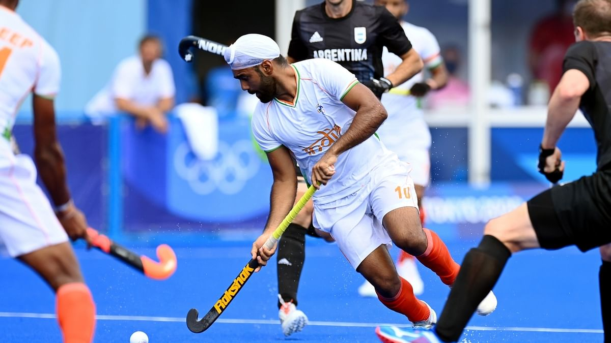 Olympics: India beat Argentina 3-1 in men's hockey group match, reach quarters