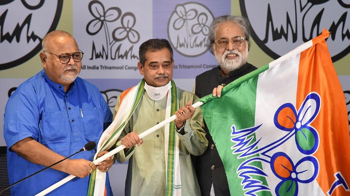 Pranab Mukherjee's son Abhijit Mukherjee joins Trinamool