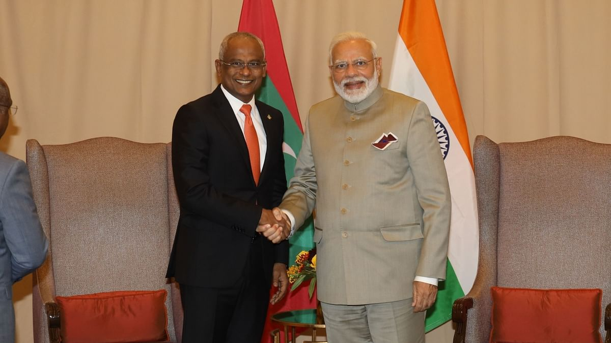 Modi reviews bilateral ties during telephone call with Maldives President Ibrahim Solih