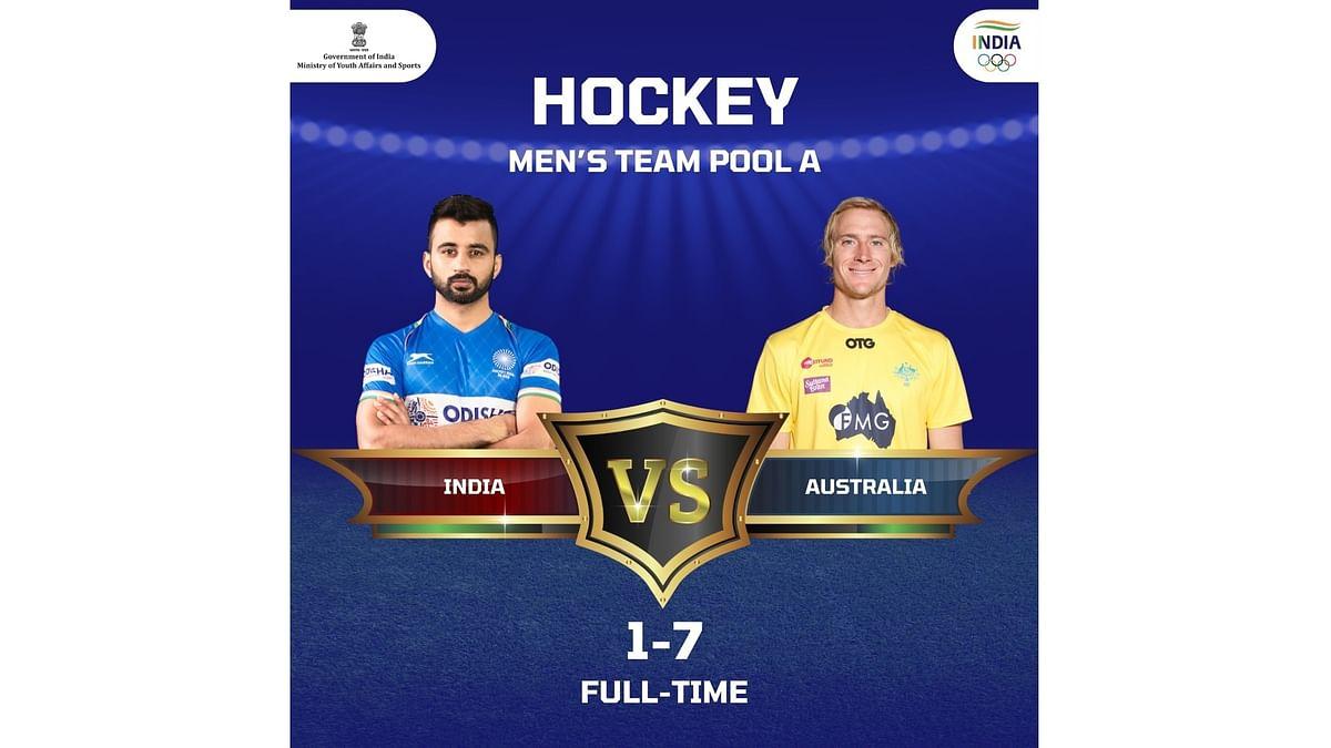 Olympics hockey: Australia inflict crushing 7-1 defeat on India