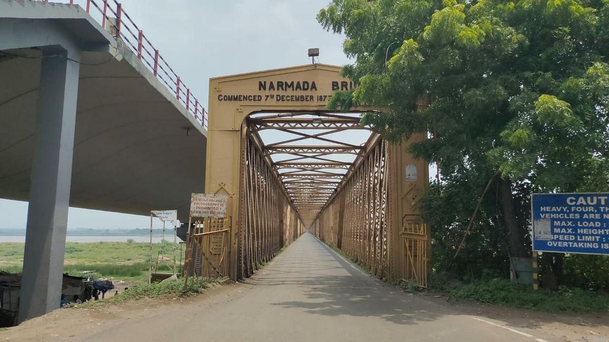 Gujarat's iconic 'Golden Bridge' on Narmada bows out at 140