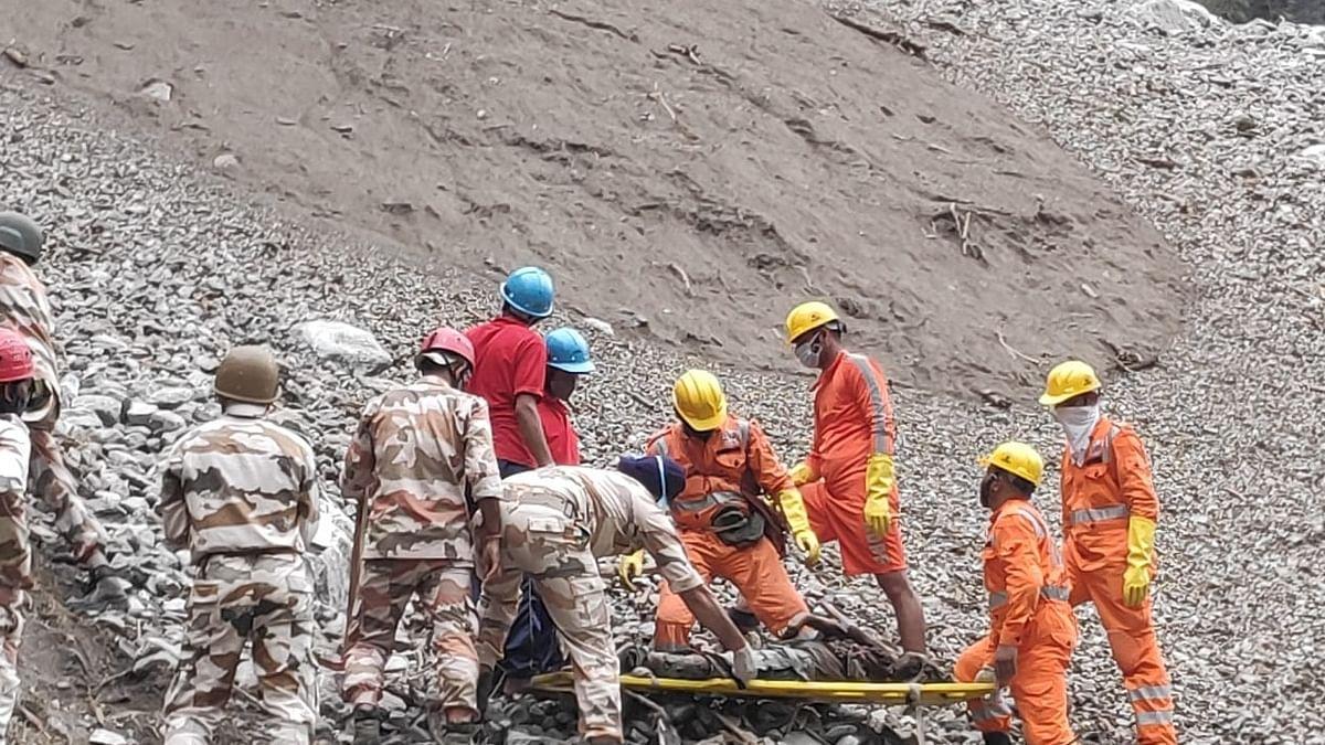 Bus wreckage found, 20 still missing in Himachal landslide