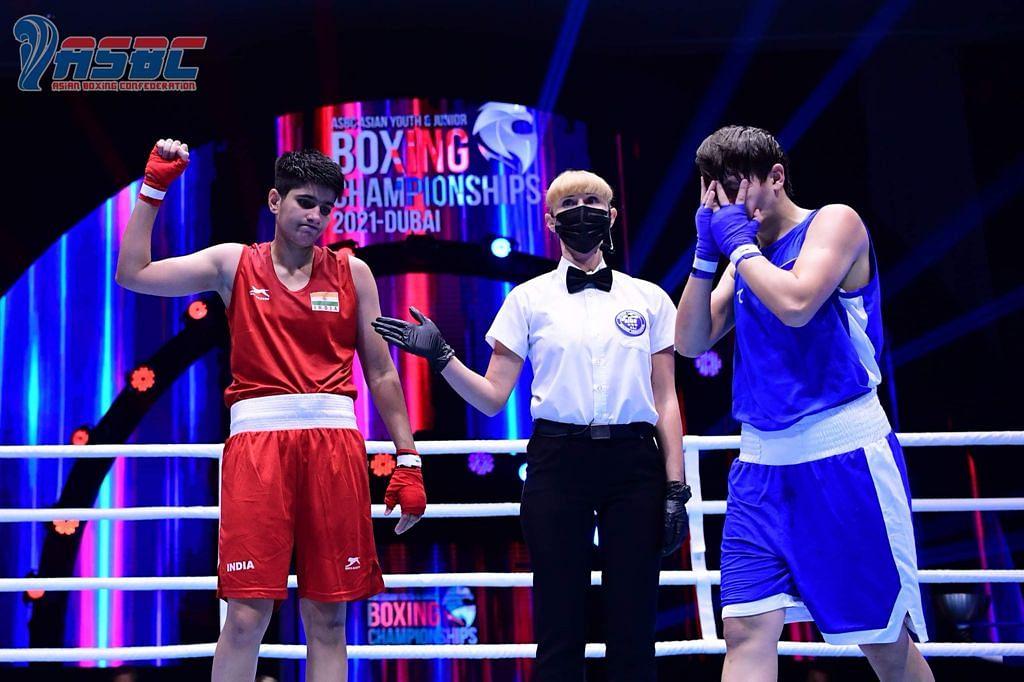 Vanshaj and Preeti among six Indians in finals  at ASBC Asian Youth Boxing Championship