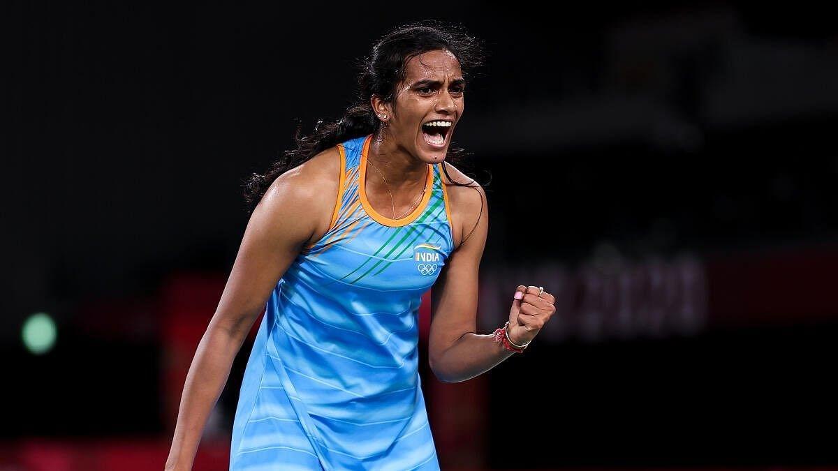 P V Sindhu beats He Bingjiao to win women's singles bronze