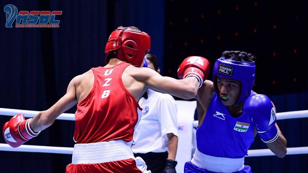 Bishwamitra strikes gold, Suresh bags silver at Asian Youth Boxing Championships