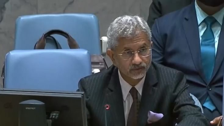 Jaishankar calls out countries protecting terrorists with innocents' blood