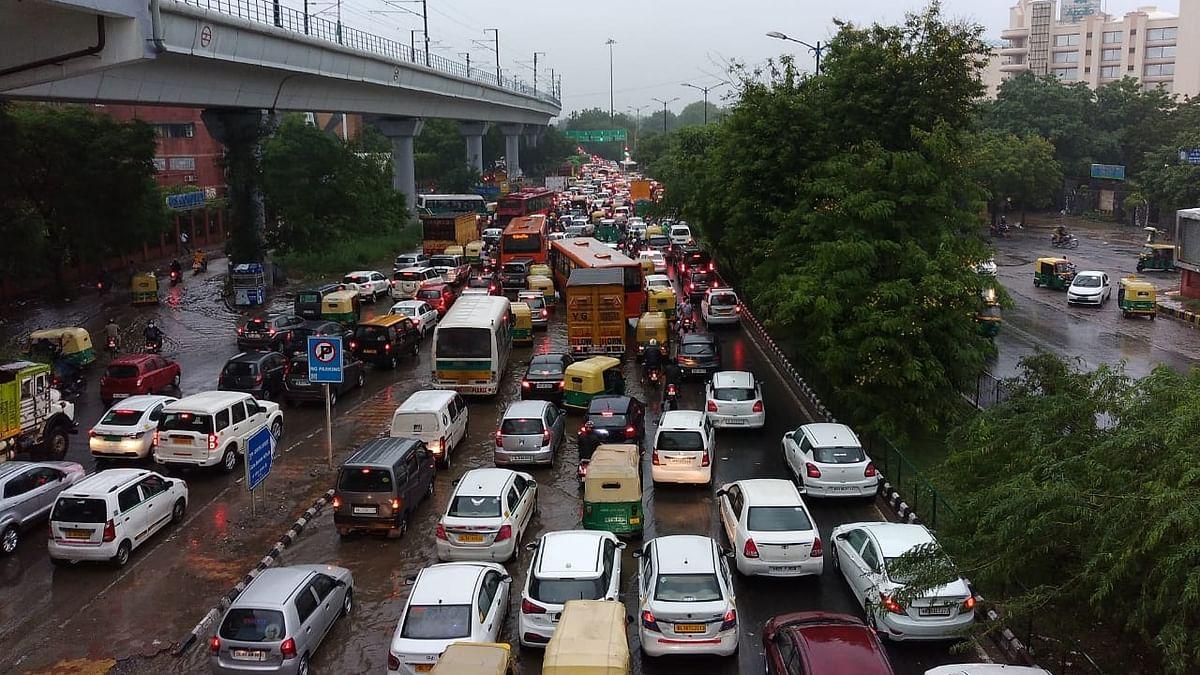 Heavy rains lash Delhi, NCR; waterlogging in several places