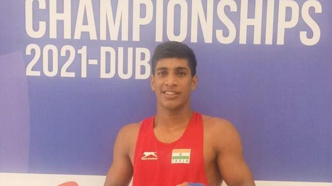 Vishal, Bishwamitra win gold at Asian Youth Boxing Championships