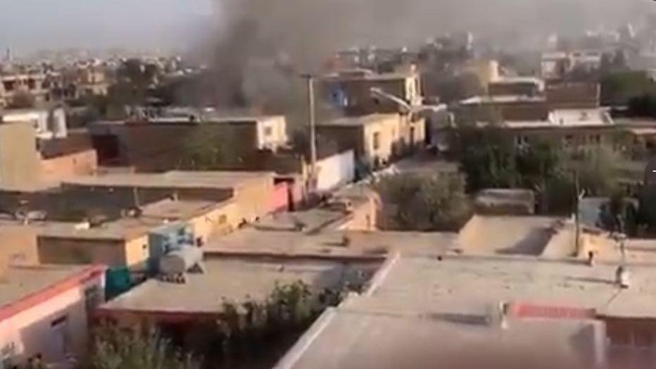 Rocket attack near Kabul airport kills two people