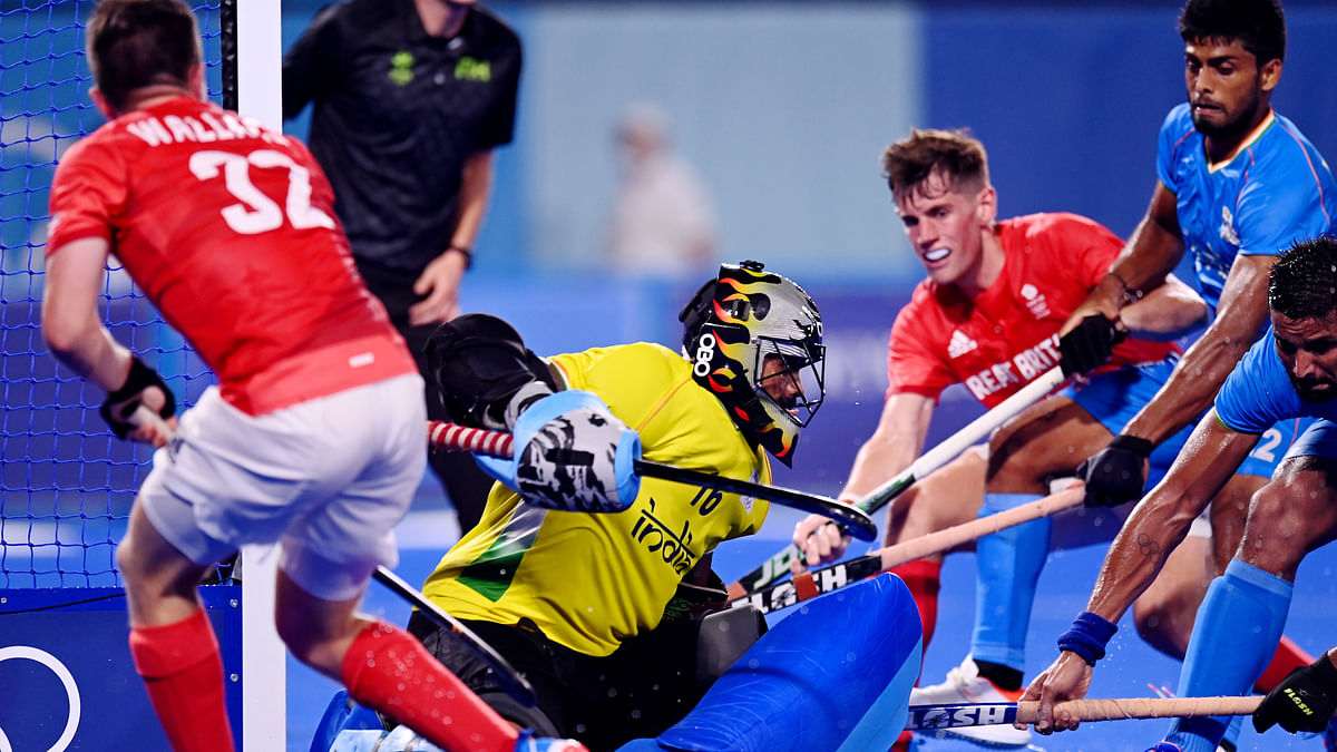 Olympics:  Young forwards come good as India overpower Great Britain 3-1 to book semi-final berth